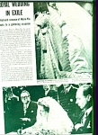 1955 - Royal Wedding in Exile story