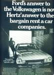 Click here to enlarge image and see more about item Z9953: 1970 - Hertz Rent a car ad
