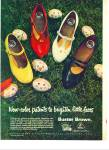 Click here to enlarge image and see more about item Z9962: 1964 - Buster Brown shoes ad