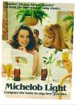 1982 -  Michelob light beer ad