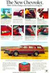 Chevrolet station wagon for 1978 ad