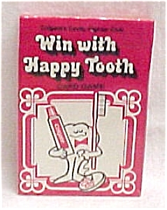 Colgate Toothpaste Happy Tooth Kids Card Game  5 Decks (Image1)