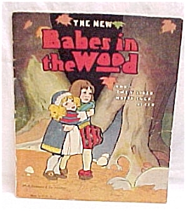 Babes in the Woods Child's Children Story Color Book. (Image1)