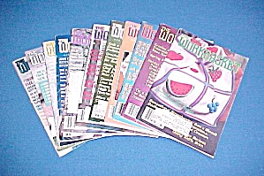 Lot of 11 Workbasket Magazines Knit Crochet 1983 - 1990 (Image1)