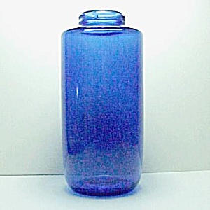 Cobalt Blue Glass Bottle Phillips Milk of Magnesia MOM (Image1)