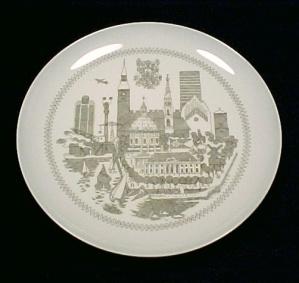 Bing Grondahl Copenhagen Plate B & G Denmark Vintage (Image1)