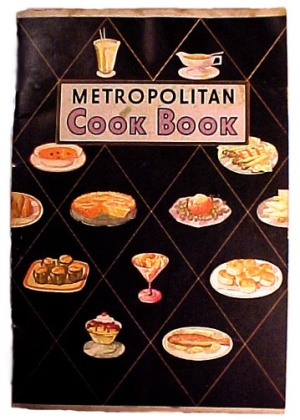 Metropolitan Life Insurance 1920s Cook Book Recipe Booklet Cookbook  (Image1)