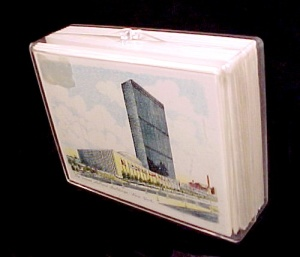 Box Of 12 United Nations 1961 Note Cards & Envelopes Souvenir