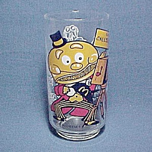Mayor McCheese McDonald's Drinking Glass Tumbler 1977 (Image1)