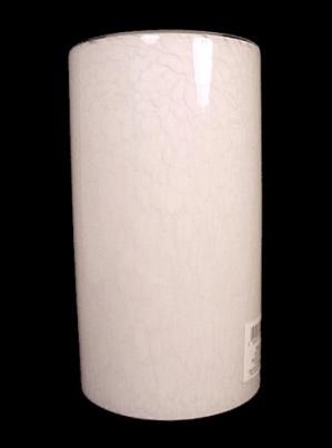 Art Glass White Neckless Shade for Pendant Light Fixture Chandelier (Image1)