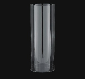 Cylinder 4.5 X14 Tube Light Lamp Shade Candle Holder Glass Wall Sconce (Image1)