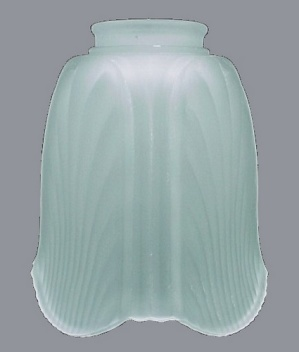 Frosted Glass Light Shade 2 1/4 in Bell Petal Wall Sconce Ceiling Fan  (Image1)