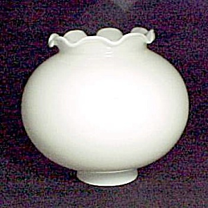 Vintage White Glass Sconce Chandelier Light Lamp Shade (Image1)