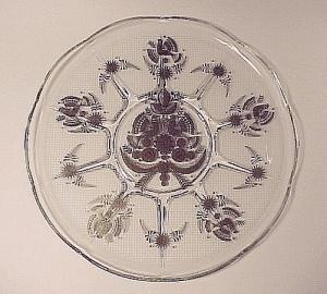 Georges Briard Sonata 11 in Round Tray Plate Platter Birds (Image1)