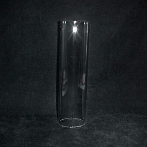 Cylinder 1 3/4 X 10 Tube Light Lamp Shade Glass Candle Wall Sconce (Image1)