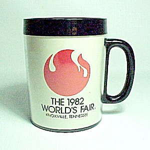 1982 World's Fair Coffee Mug Cup Knoxville Tennessee Tn