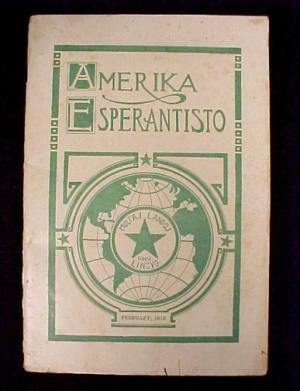 Feb 1912 Amerika Esperantisto Intrnl Artificial European Language (Image1)