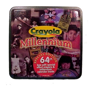 1999 Crayola Advertising Tin Millennium -  New n Wrap (Image1)