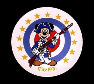Mickey Mouse BiCentennial Plate Walt Disney Limited Edition Collectors (Image1)