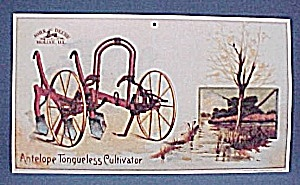 John Deere Poster Antelope Tongueless Cultivator 1992 (Image1)