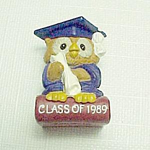 Class of 1989 Owl Graduate Graduation Merry Miniature (Image1)