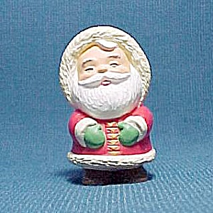 1993 Hallmark Merry Miniature Eskimo Santa Claus Christmas Ornament (Image1)