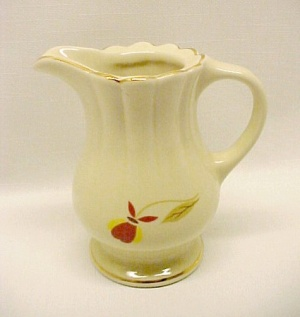 Autumn Leaf Hall China Jewel T Tea Creamer 1998 Limited Edition Nalcc