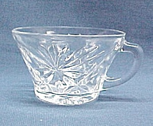 Early American Prescut Punch Bowl Snack Set 6 oz CUP (Image1)