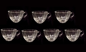 7 Hazel Ware Seashell Punch Snack Set Replacement Cups (Image1)
