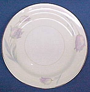 Homer Laughlin TULIP China Salad Plate Pastel Tulips (Image1)
