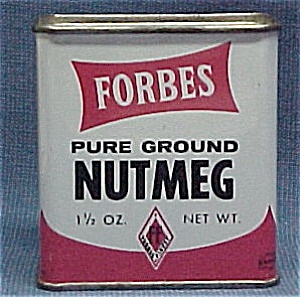 Forbes Nutmeg Spice Advertising Tin Vintage (Image1)