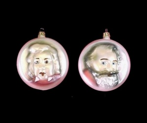 Classical Music Musician 3 Christmas Tree Ornament Set (Image1)
