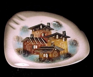 Sascha Brastoff Vintage Signed California Art Pottery