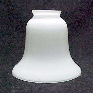 White Glass Lamp Light Bell Shade 2 1/4 for Chandelier Sconce Fan (Image1)