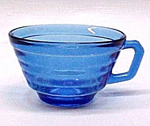 Moderntone Cobalt Cup Hazel Atlas Depression Glass (Image1)