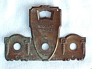 1920s Crosley Showbox Radio Copper Plate Repair Part