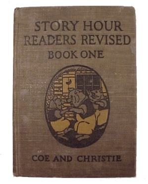 Story Hour Readers 1923 Revised Childrens Childs School Book (Image1)