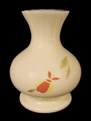 Hall China Autumn Leaf 1994 NALCC Bud Vase Jewel T Tea (Image1)
