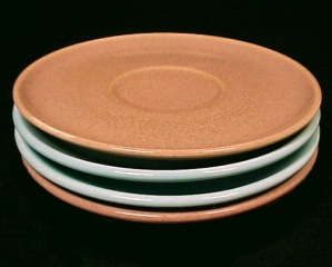 Russel Wright American Modern Coral Casual Blue SAUCER (Image1)