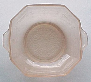 Hocking Depression Glass Frosted Pink Satin Cereal Bowl (Image1)