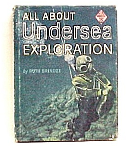 All About Undersea Exploration 1960 Childs Book Brindze (Image1)