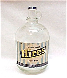 Hires Root Beer Syrup 1 Gallon Jug Bottle Rootbeer Soda