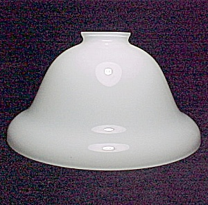 Ceiling Pendant Chandelier Light Shade Bell 2 1/4 X 8 3/4 in White (Image1)