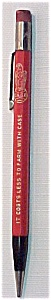 J.i. Case Mechanical Pencil Bettendorf Works Iowa