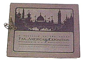 1901 Worlds Fair Pan-american Exposition Souvenir Book