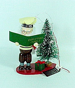 1993 Kurt Adler Hershey's Chocolate Christmas Tree Ornament Baker (Image1)