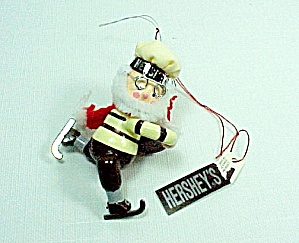 Kurt Adler Hershey's Chocolate Christmas Tree Ornament Ice Skating