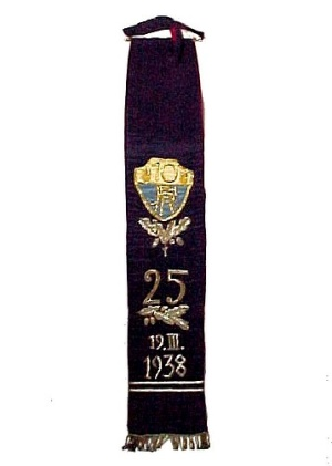 Lodge Sash Sorority Fraternity College Religious Banner Memoribilia