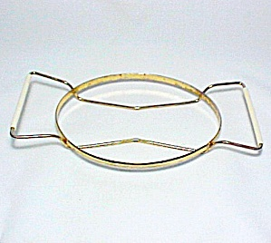 Pyrex Oval Metal Rack Stand for 1 1/2 Quart Casserole Qt Vintage (Image1)