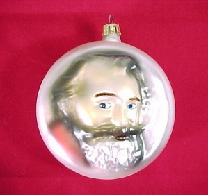 Brahms Christmas Tree Ornament Classical Music Musician (Image1)